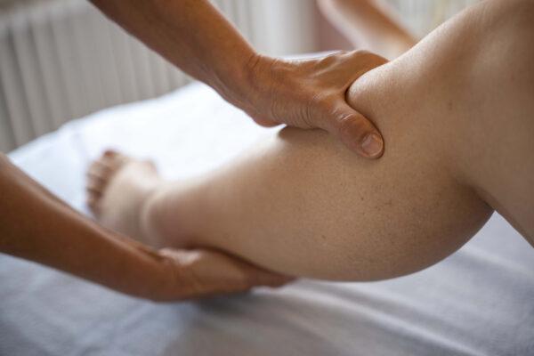 physiotherapie praxis lymphdrainage unterschenkel